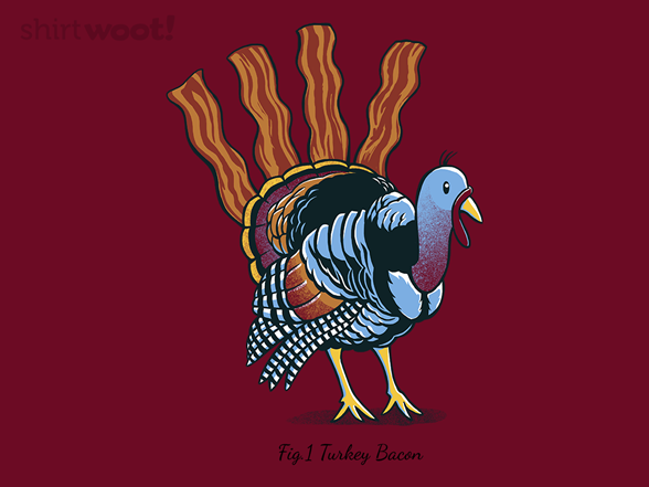 Turkey Bacon T Shirt