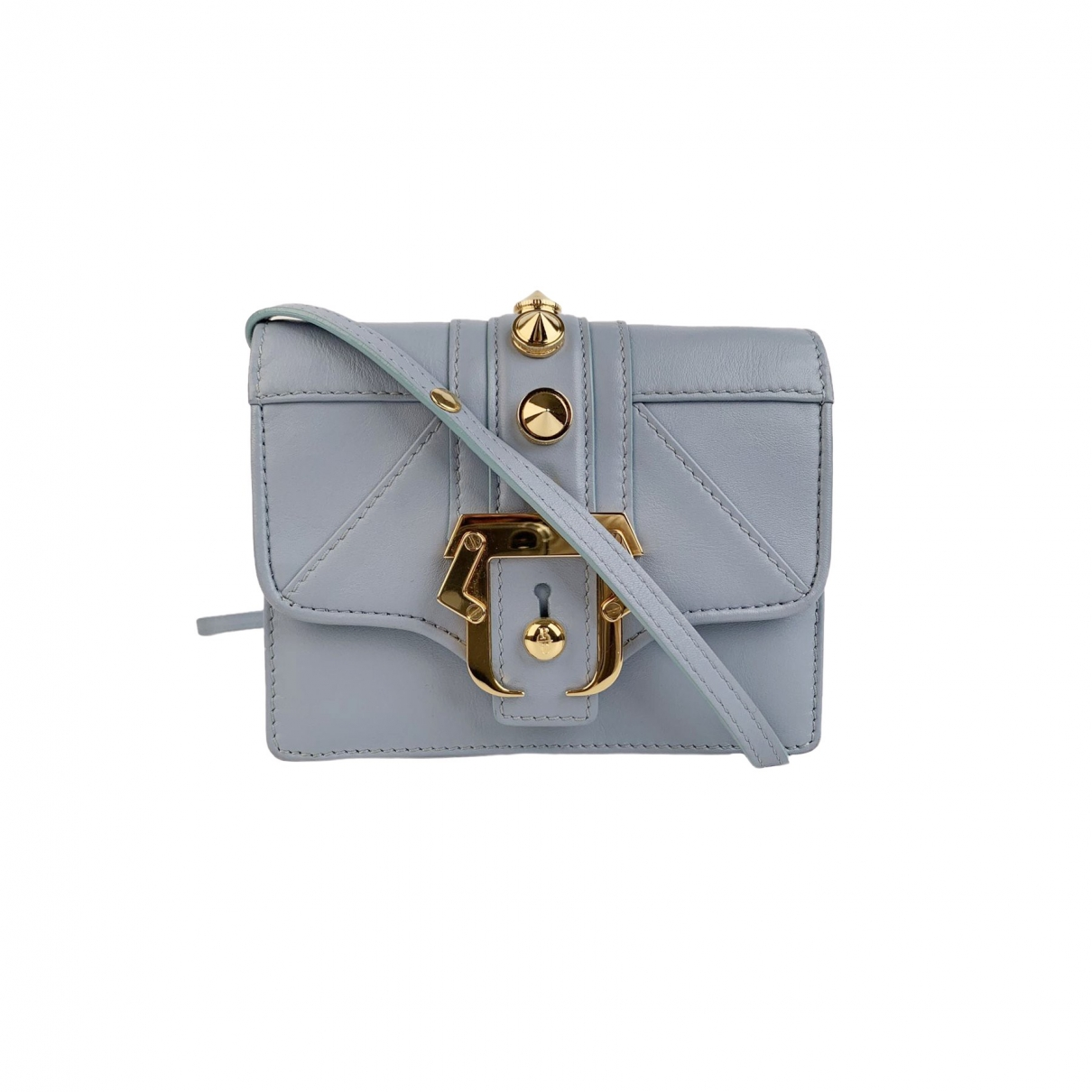 Paula Cademartori \N Blue Leather handbag for Women \N