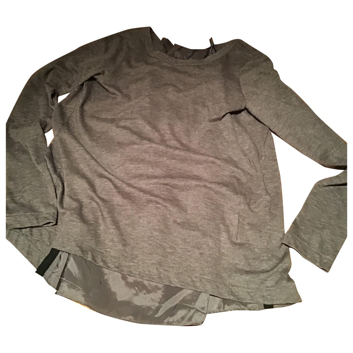 Sacai \N Grey Silk Knitwear for Women 3 0-5