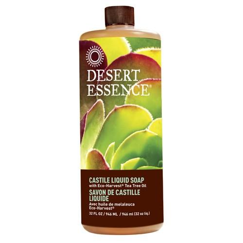 Castile Liquid Soap Tea Tree, 32 oz by Desert Essence
