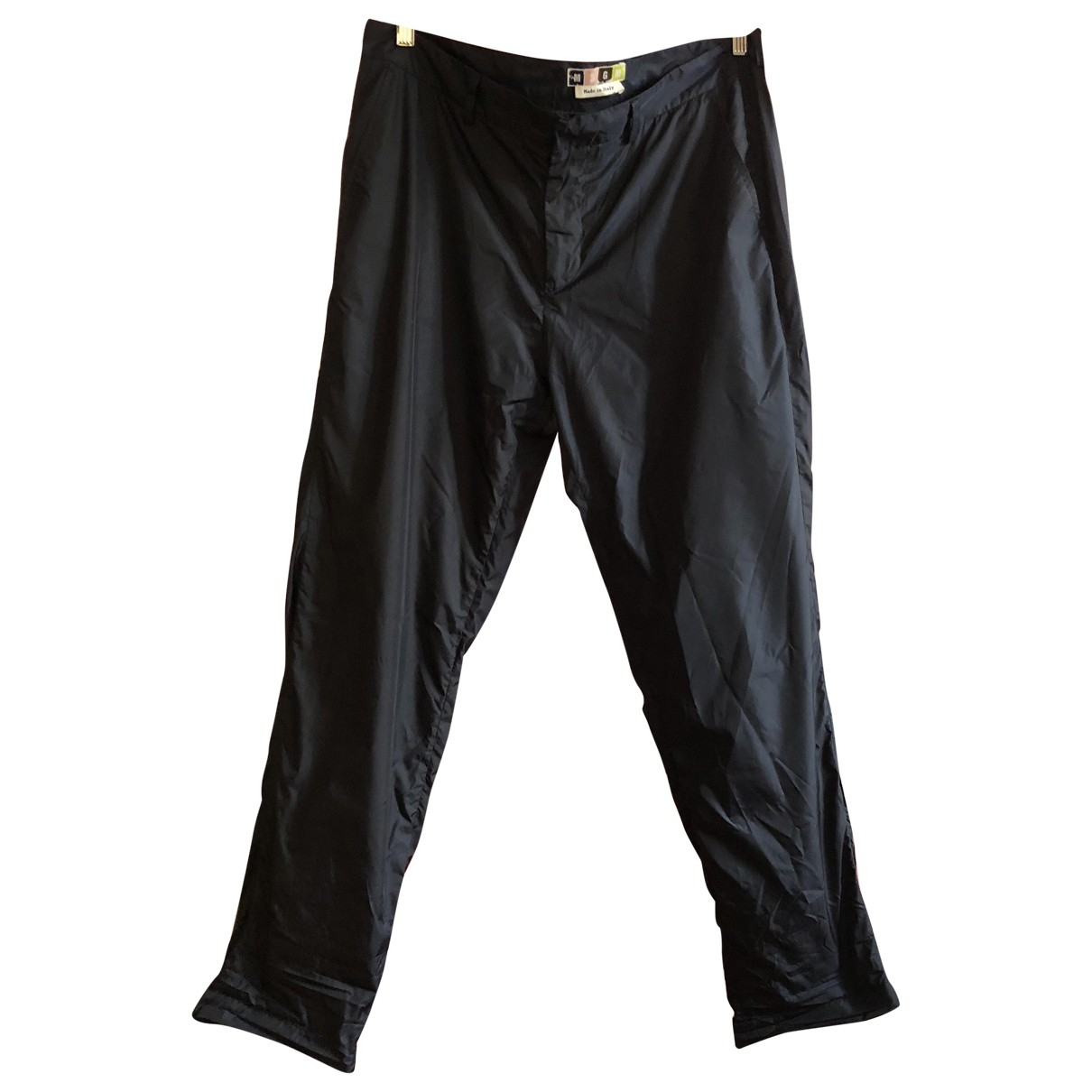 Msgm \N Navy Trousers for Men 50 IT