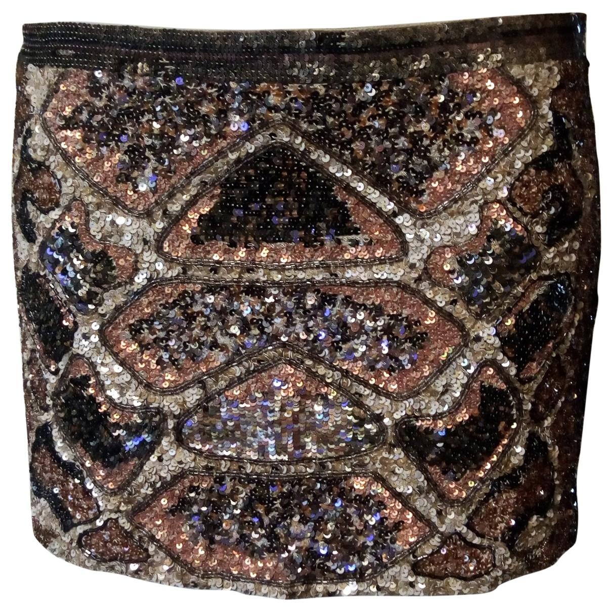 All Saints \N Multicolour Glitter skirt for Women 10 UK