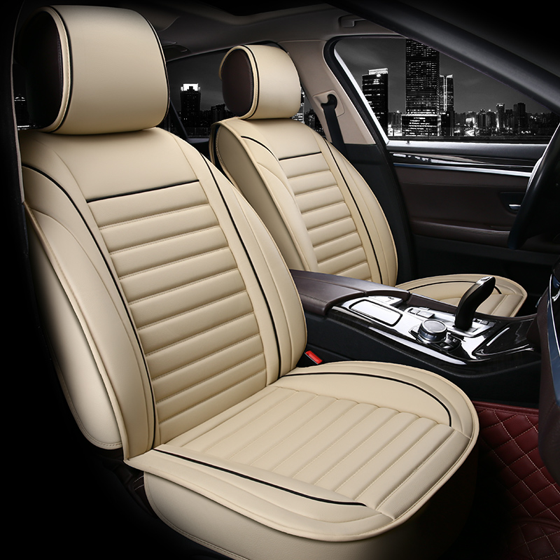 Bussiness Style Simple Design with Birght Stripes Universal Fit Car Seat Covers