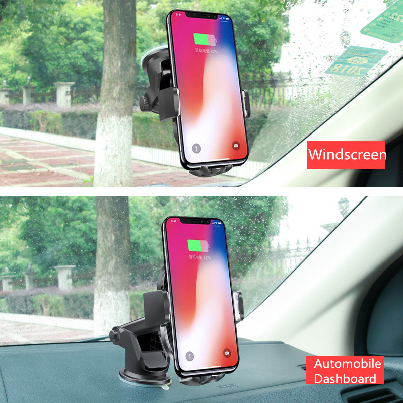 Practical Suction Cup Base ABS Material Car Phone Mount