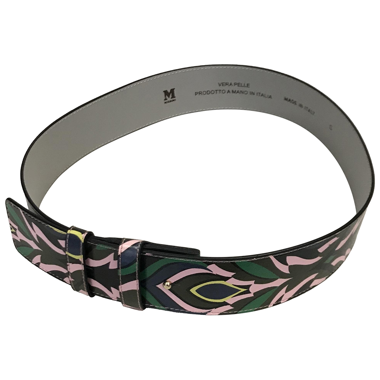 M Missoni \N Anthracite belt for Women XS International