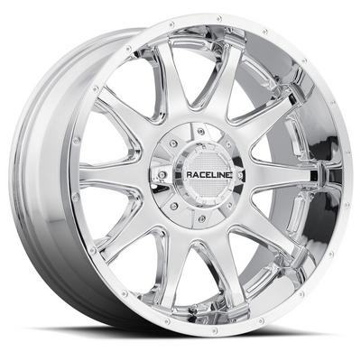 Raceline Wheels Shift, 17x9 with 5x5 and 5x135 Bolt Pattern - Chrome - 930C-79095-00