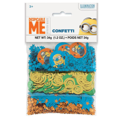 1 Confetti 3-Pack 1.2 oz. For Birthday Party
