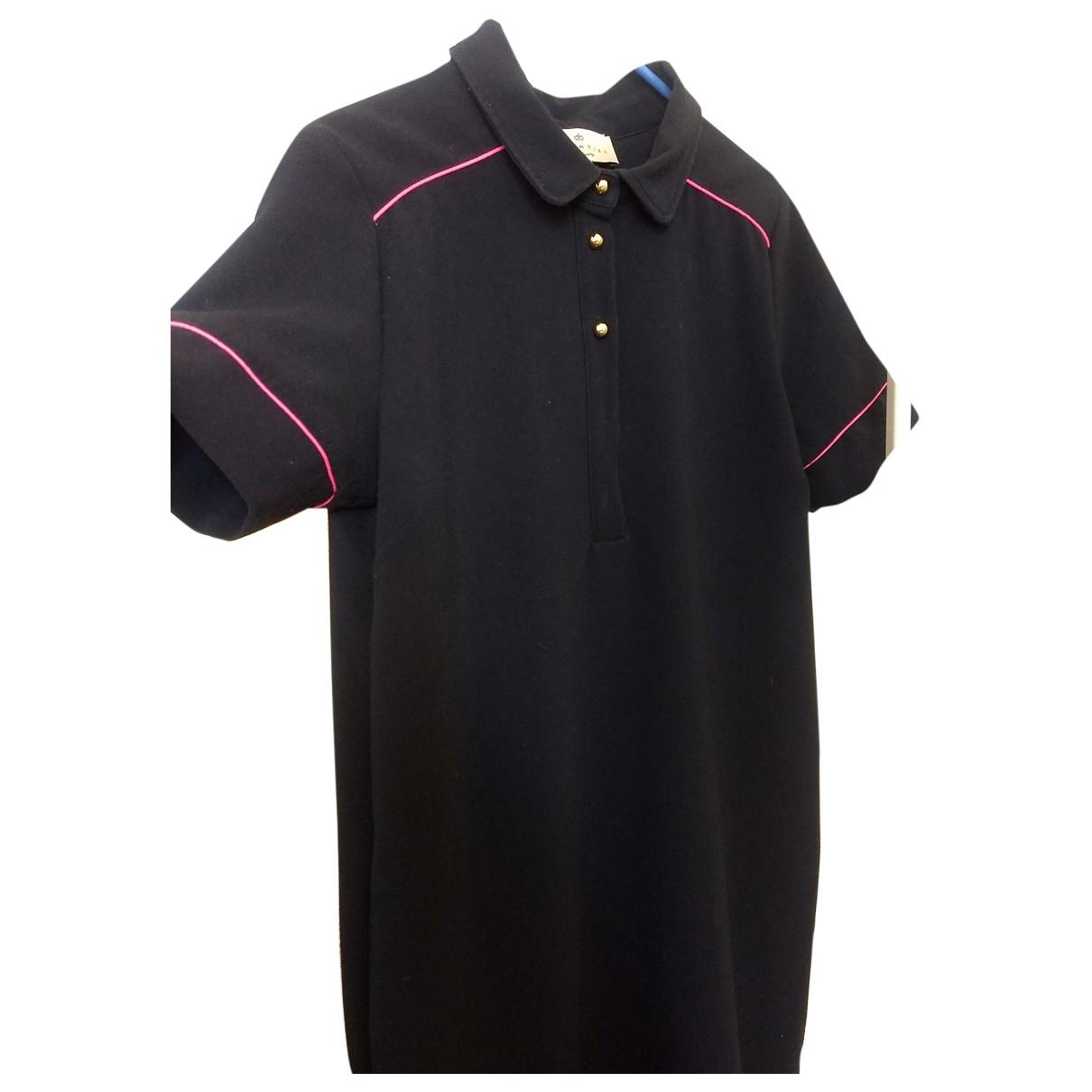 Essentiel Antwerp \N Navy Cotton dress for Women 32 FR