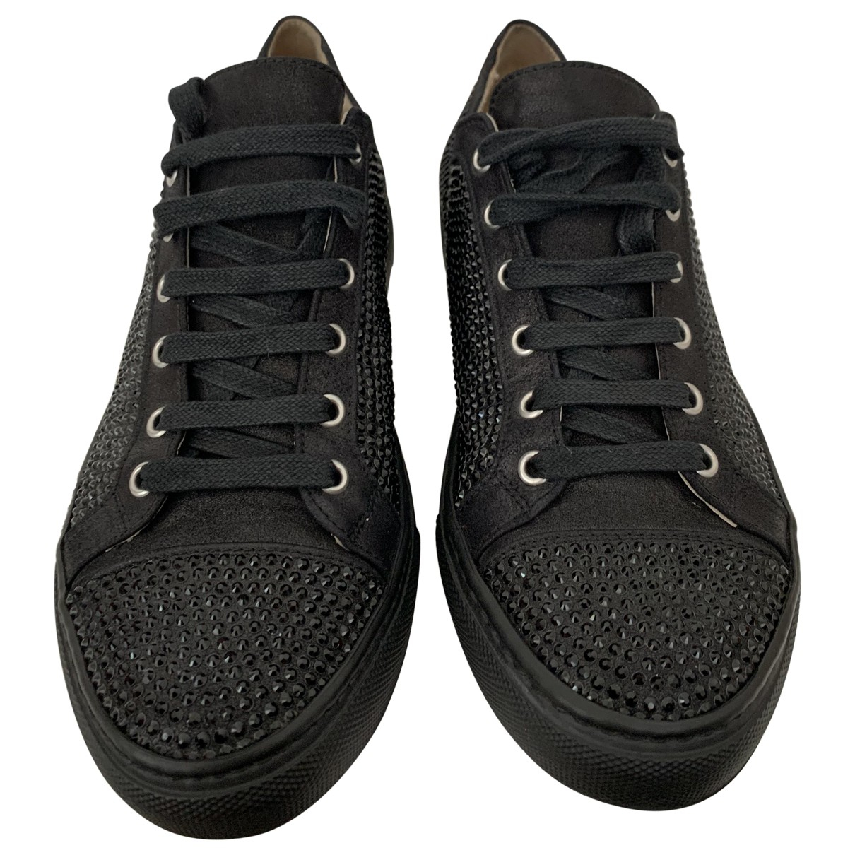 Le Silla \N Black Cloth Trainers for Women 37 EU