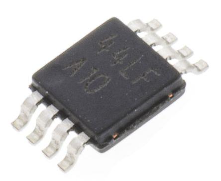 Texas Instruments LMC6482IMM/NOPB , Op Amp, RRIO, 1.5MHz, 5 → 15 V, 8-Pin MSOP