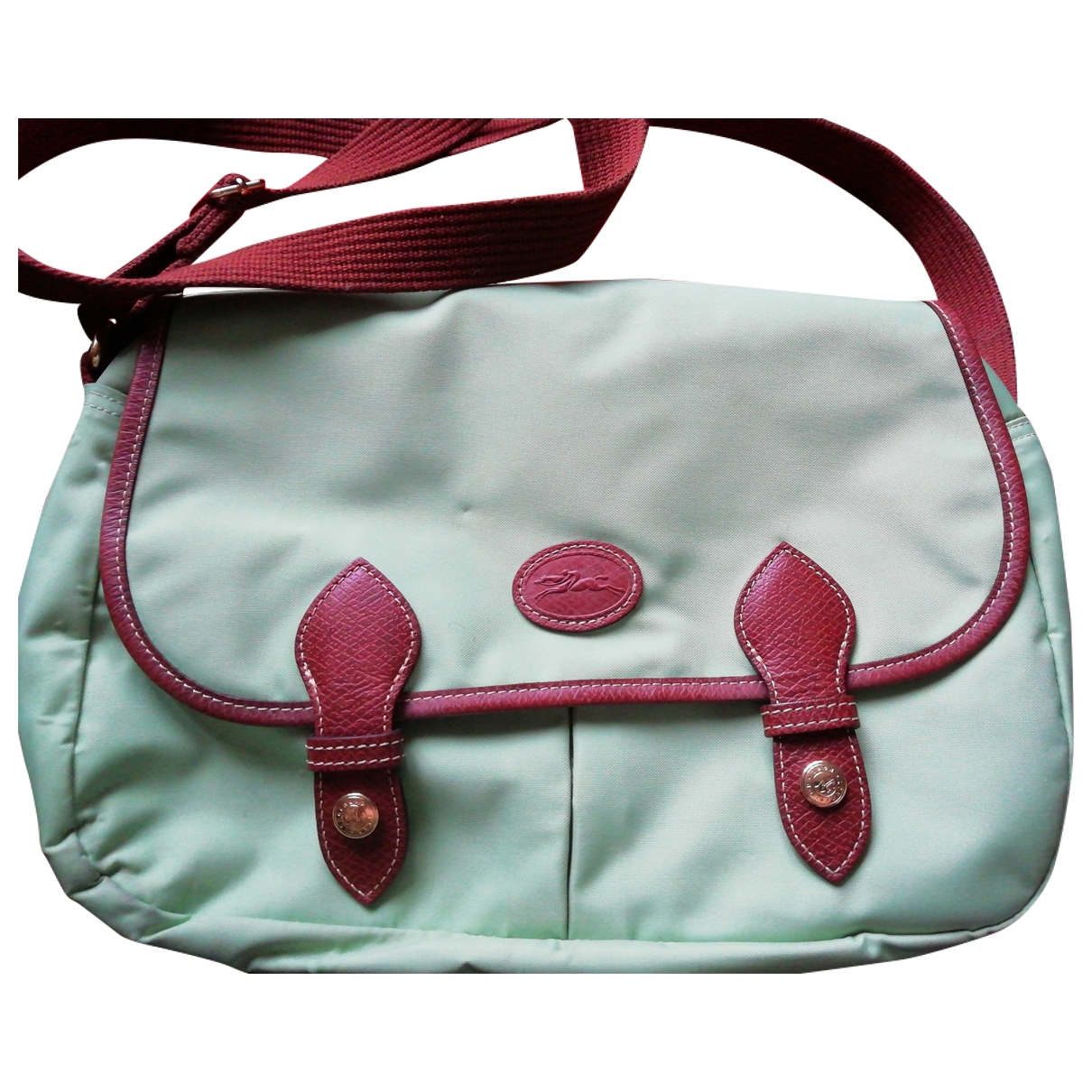 Longchamp \N Green handbag for Women \N