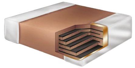 KEMET 0805 (2012M) 5.6nF Multilayer Ceramic Capacitor MLCC 630V dc ±10% SMD C0805V562KBRACTU (50)