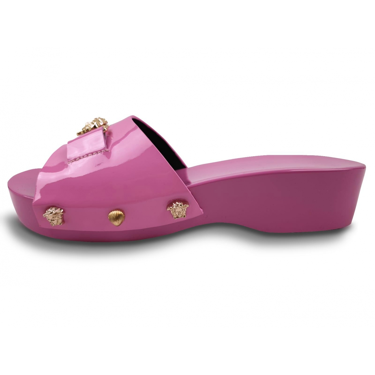 Versace \N Pink Patent leather Sandals for Kids 32 EU