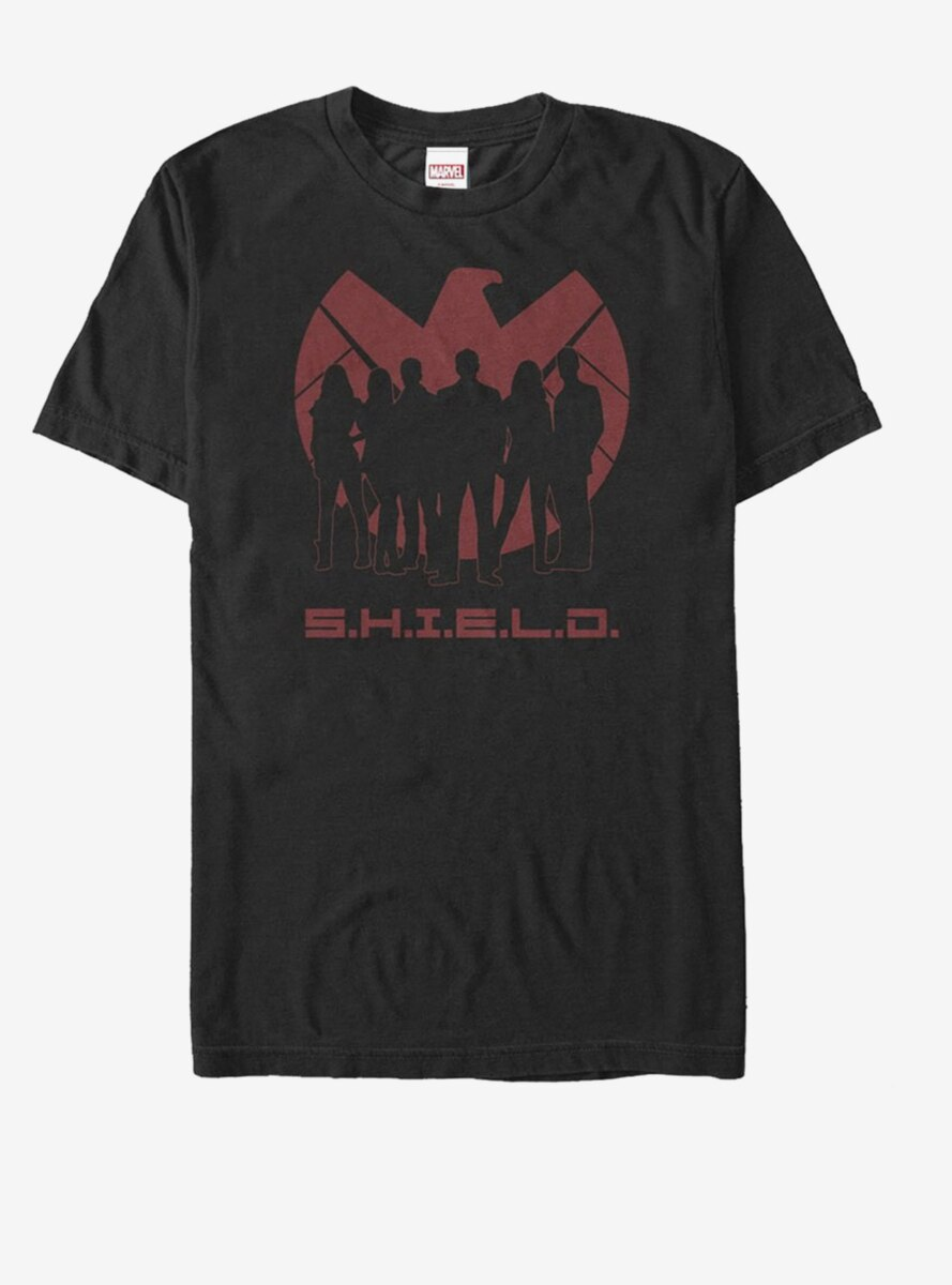 Marvel Agents of S.H.I.E.L.D. Silhouette Logo T-Shirt