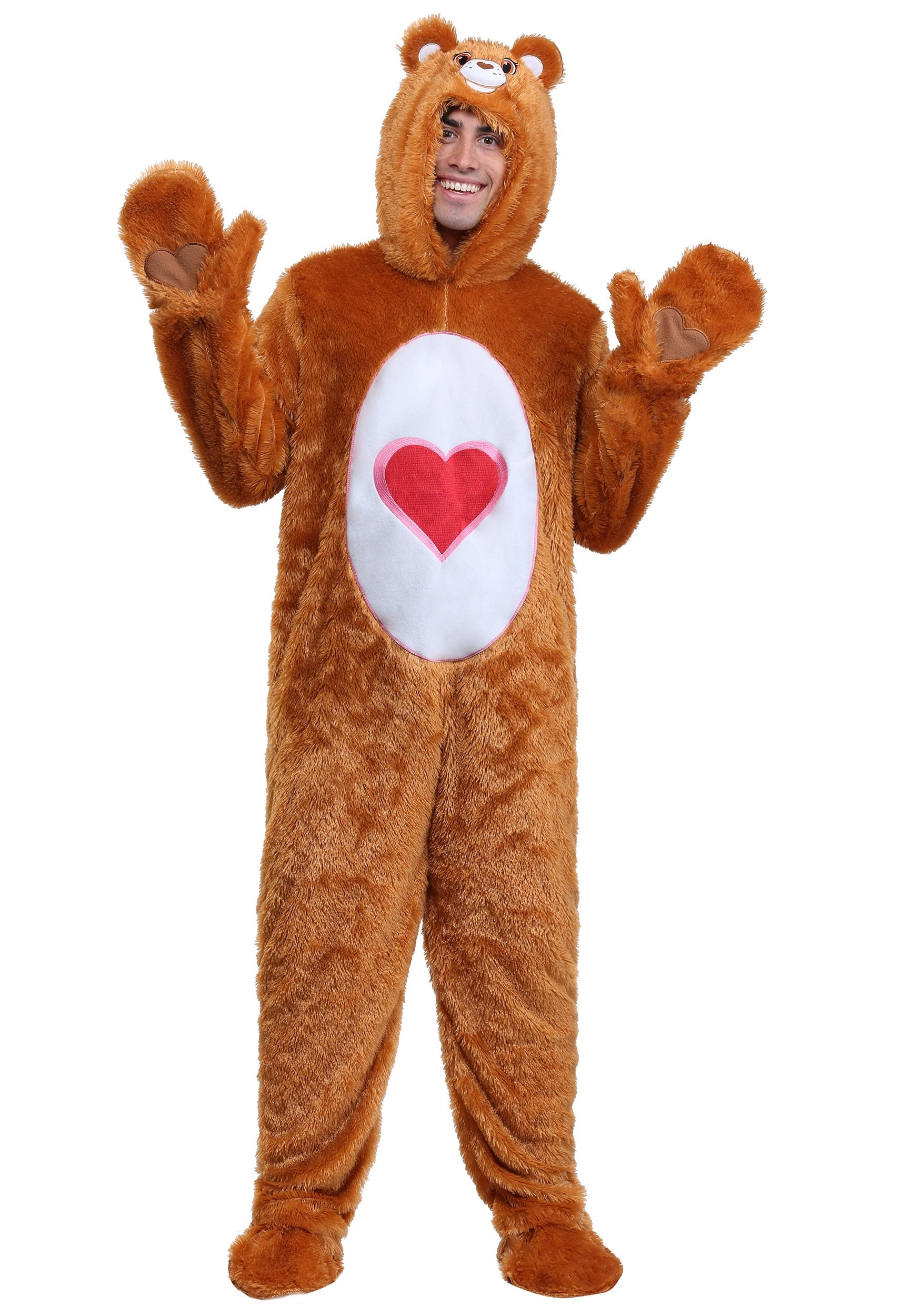 Adult Care Bears Classic Tenderheart Bear Costume