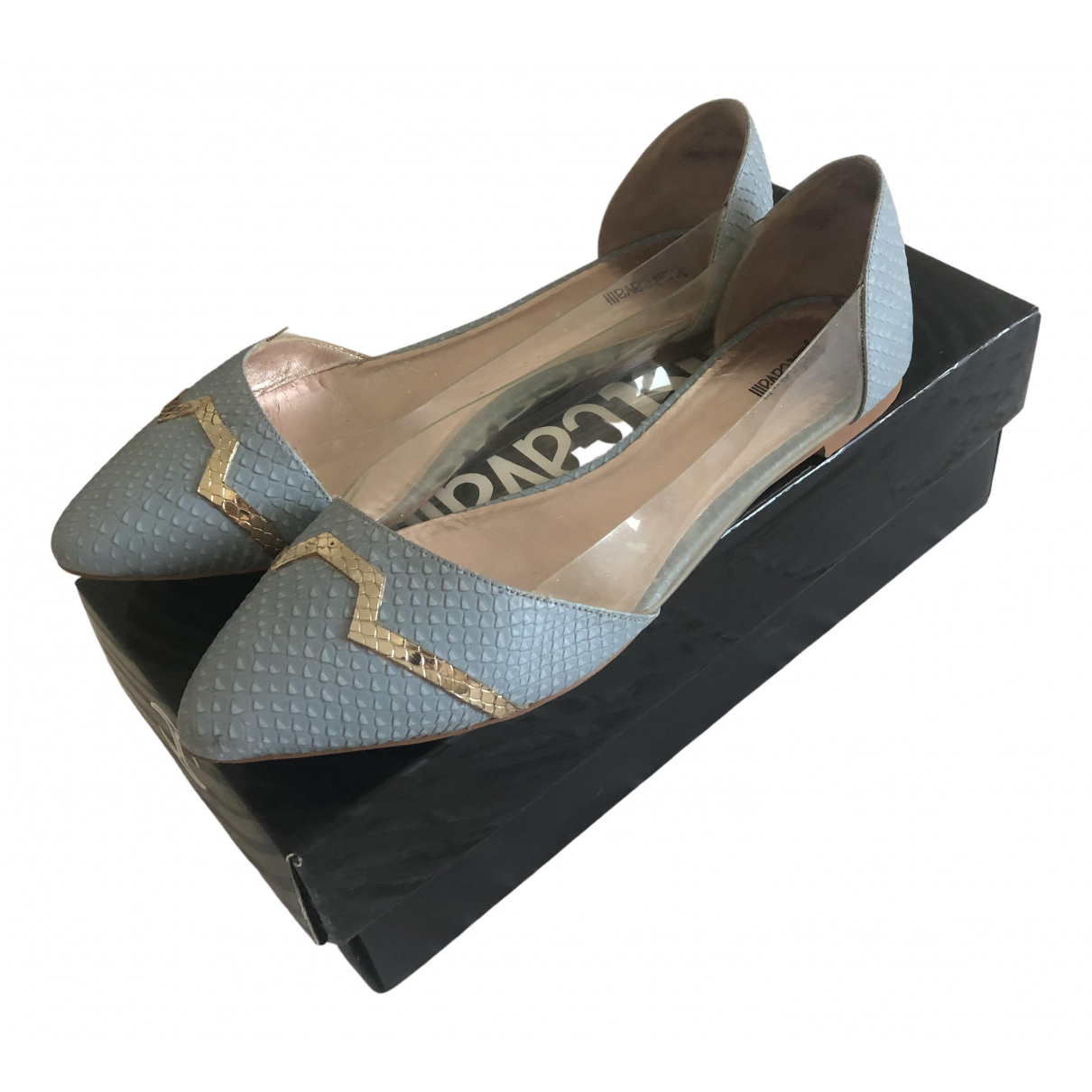 Just Cavalli \N Leather Ballet flats for Women 40 EU
