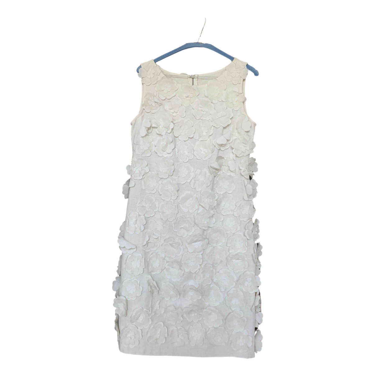 Dolce & Gabbana \N White Linen dress for Women 42 IT