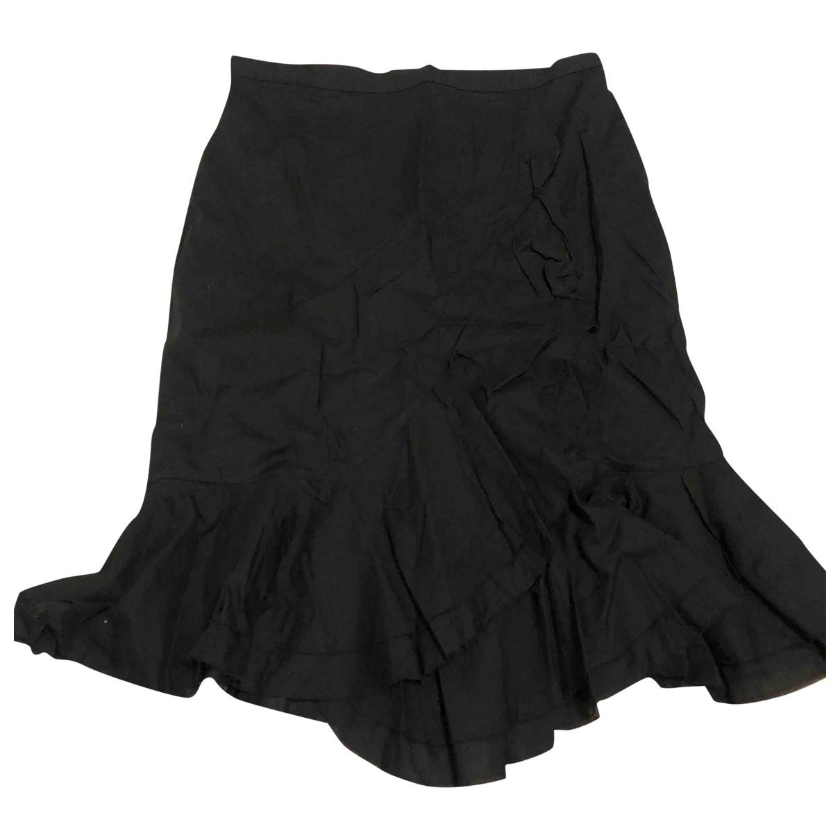 Paul & Joe \N Black Cotton skirt for Women 38 FR