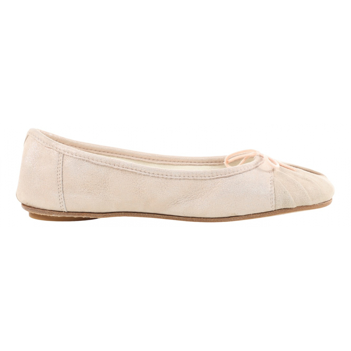 Repetto \N Pink Suede Ballet flats for Women 37 EU