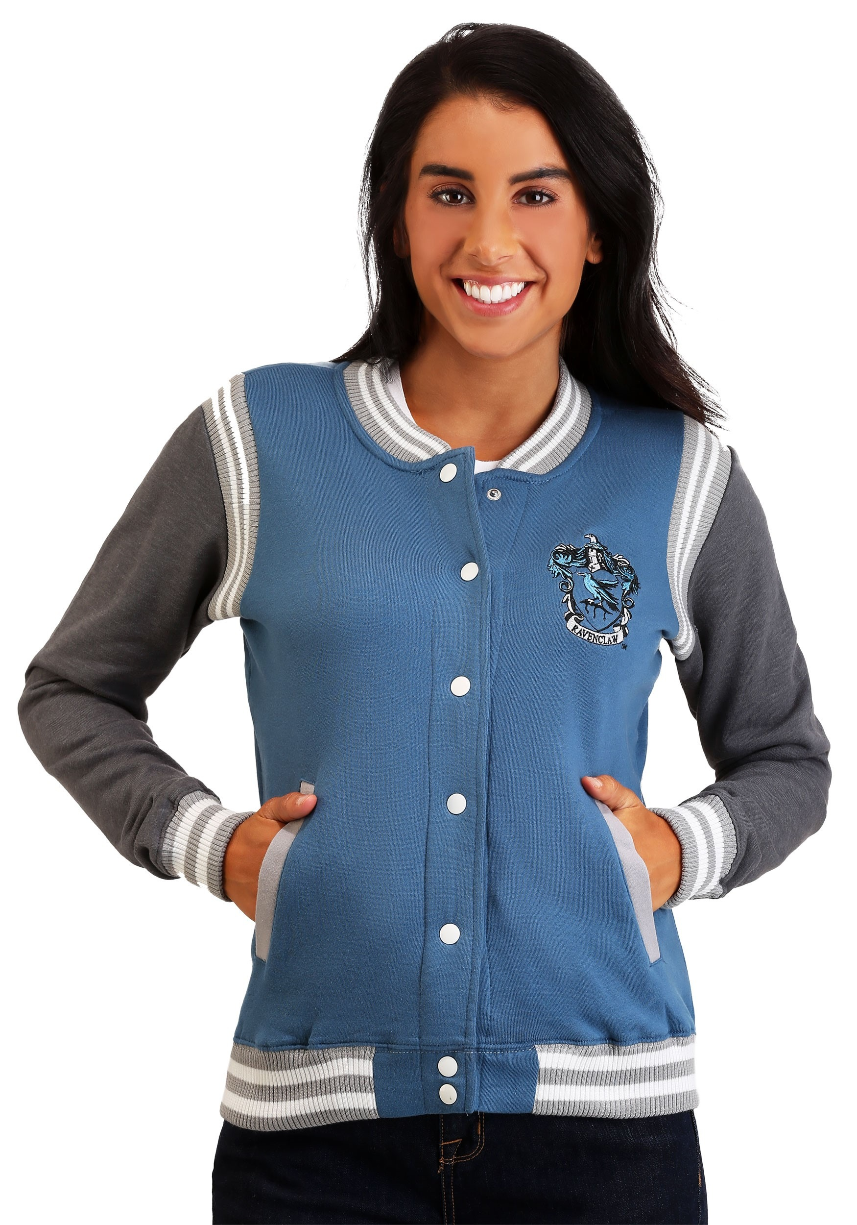 Women's Harry Potter Ravenclaw Varsity Jacket