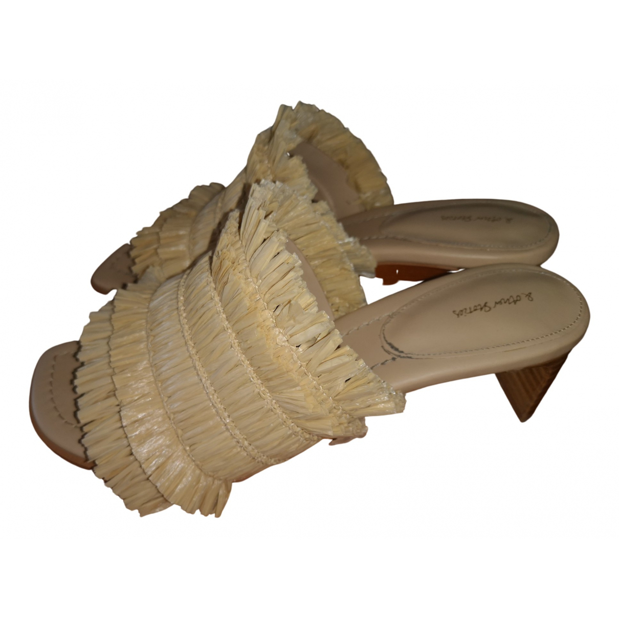 & Stories \N Leather Mules & Clogs for Women 39 EU