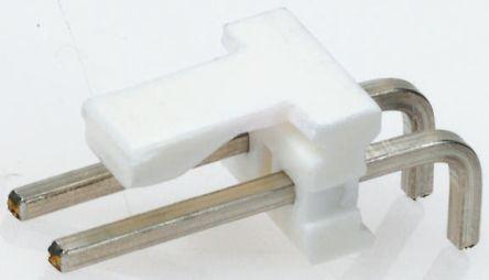 TE Connectivity , MTA-156, 5 Way, 1 Row, Right Angle PCB Header (5)