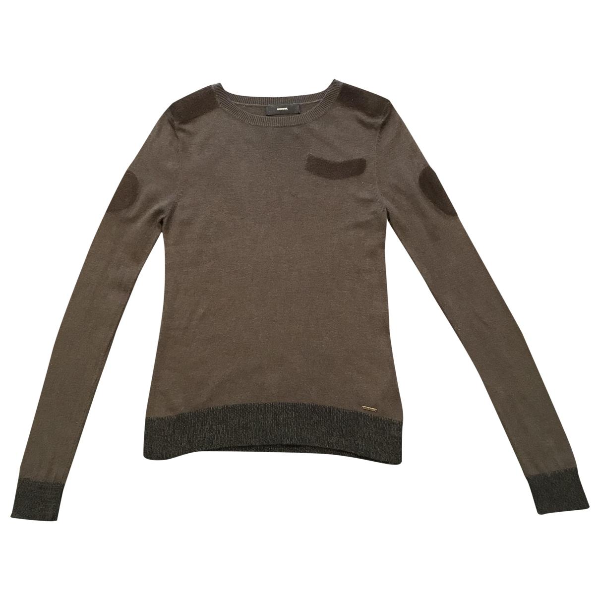 Diesel \N Khaki Knitwear for Women XS International