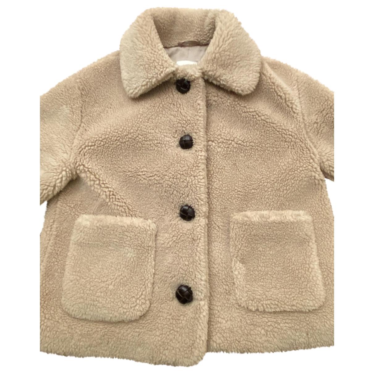 Zara \N Beige Faux fur jacket for Women S International