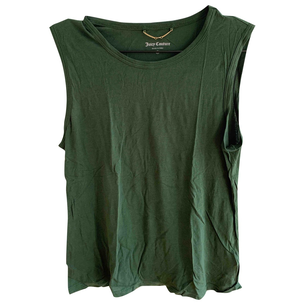 Juicy Couture \N Green Cotton  top for Women S International