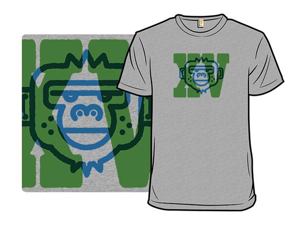 Moody Monkey T Shirt