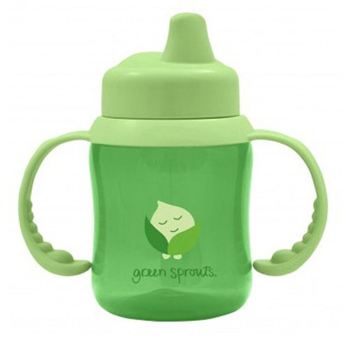 Non-Spill Sippy Cup Green 1 Ct by Green Sprouts