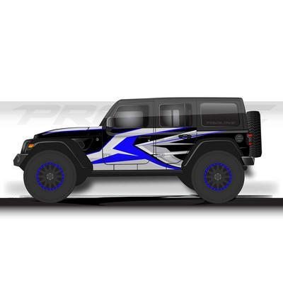 Proline Wraps JL Series Ridge Wrap (Blue) - PLJL4-RDG-BLU