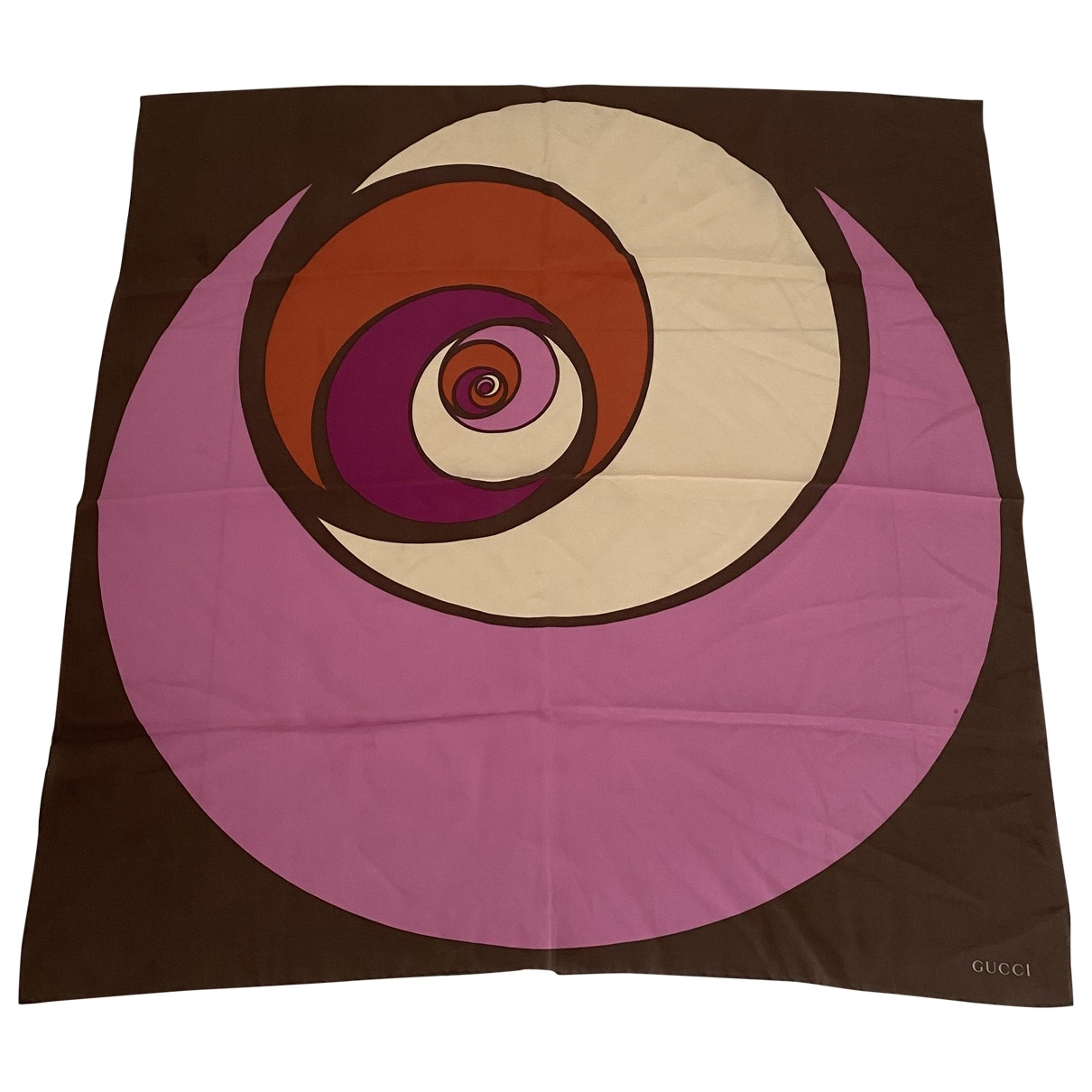 Gucci \N Purple Silk Silk handkerchief for Women \N
