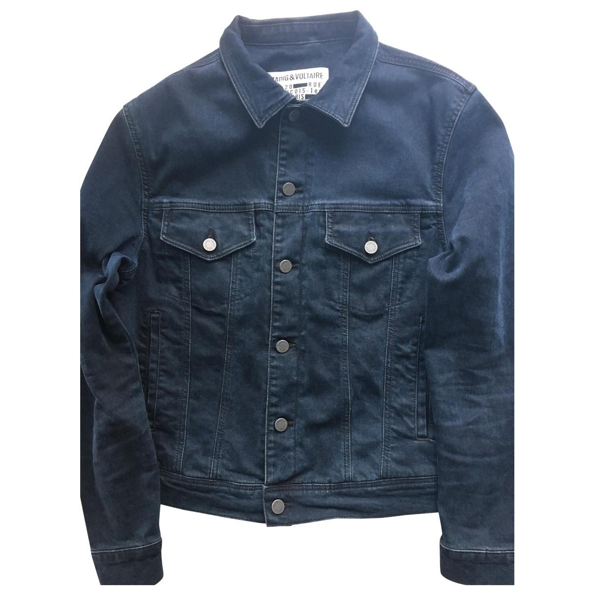 Zadig & Voltaire \N Blue Cotton jacket  for Men 44 FR