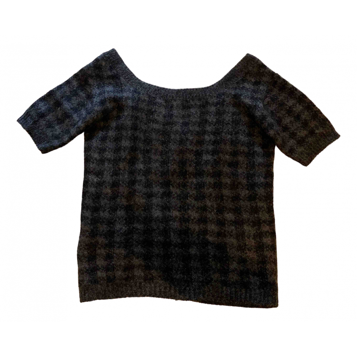 Prada \N Anthracite Wool Knitwear for Women 42 IT