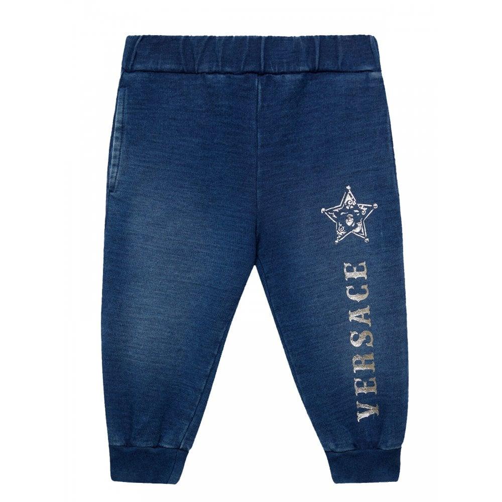 Versace Bb Joggers Colour: BLUE, Size: 18/24