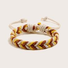 Guys Braided Design Bracelet