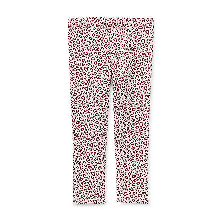 Okie Dokie Toddler Girls Legging, 3t , Pink