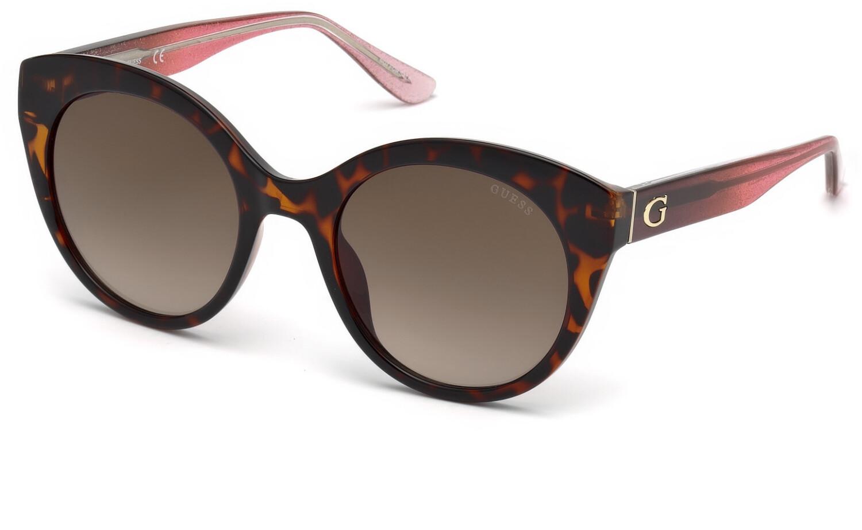 Guess Women's Gradient Gu7553 GU7553-52F-53 Brown Cat Eye Sunglasses