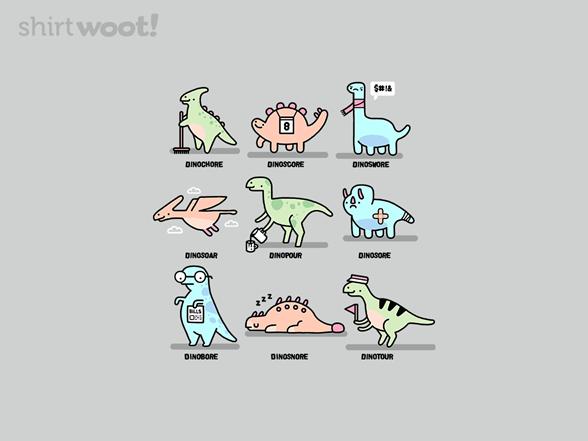 Jurassic Puns T Shirt
