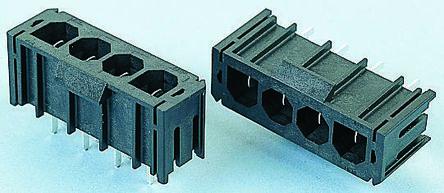 Molex , Sabre, 43160, 2 Way, 1 Row, Right Angle PCB Header (5)
