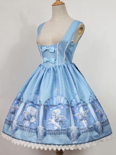 Milanoo Classic Lolita Sk Skirt Time Guardian Sk With Straps Original Design