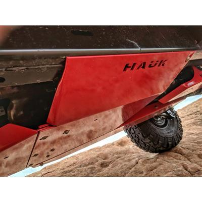 Hauk Offroad Aluminum Transfer Case Skid Plate (Bare) - ARM-2098A