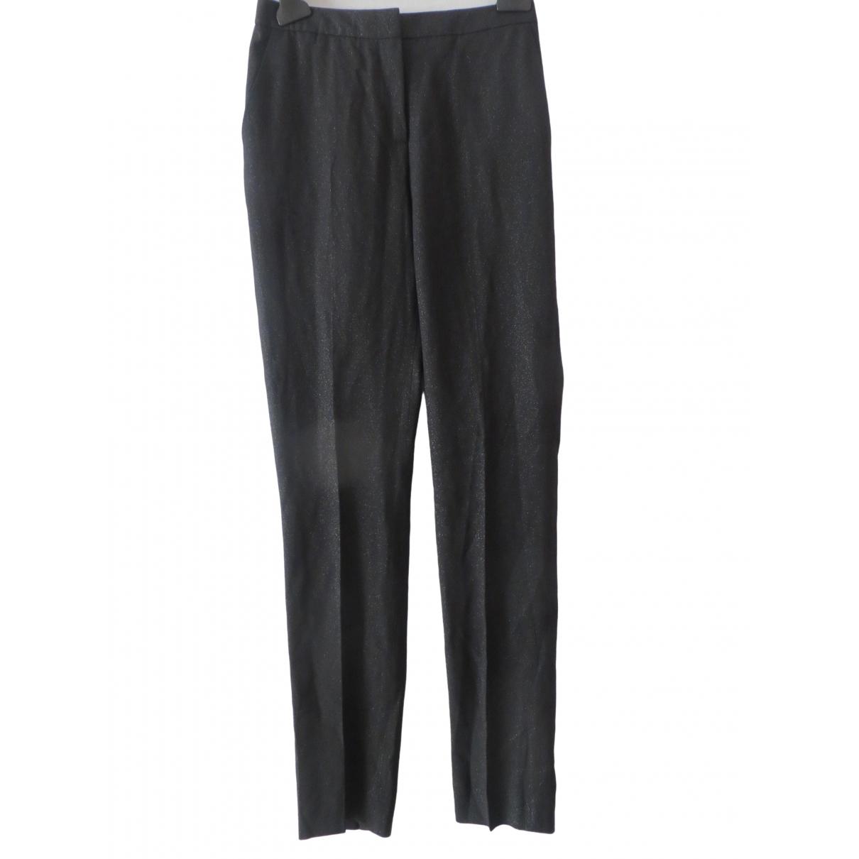 Reiss \N Black Trousers for Women 6 UK