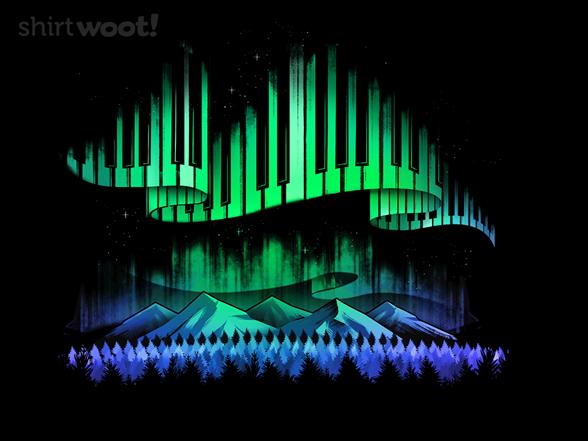 Aurora Borealis Song T Shirt