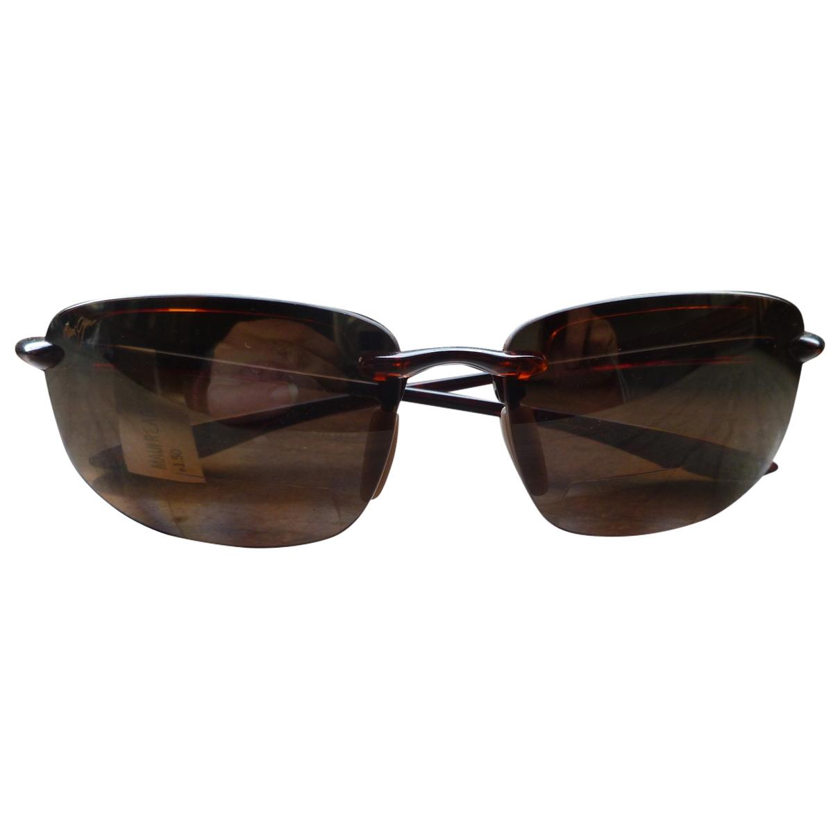 Maui Jim \N Brown Sunglasses for Men \N