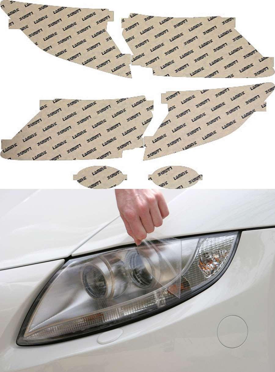 Honda CR-Z 11-12 Clear Headlight Covers Lamin-X H032CL