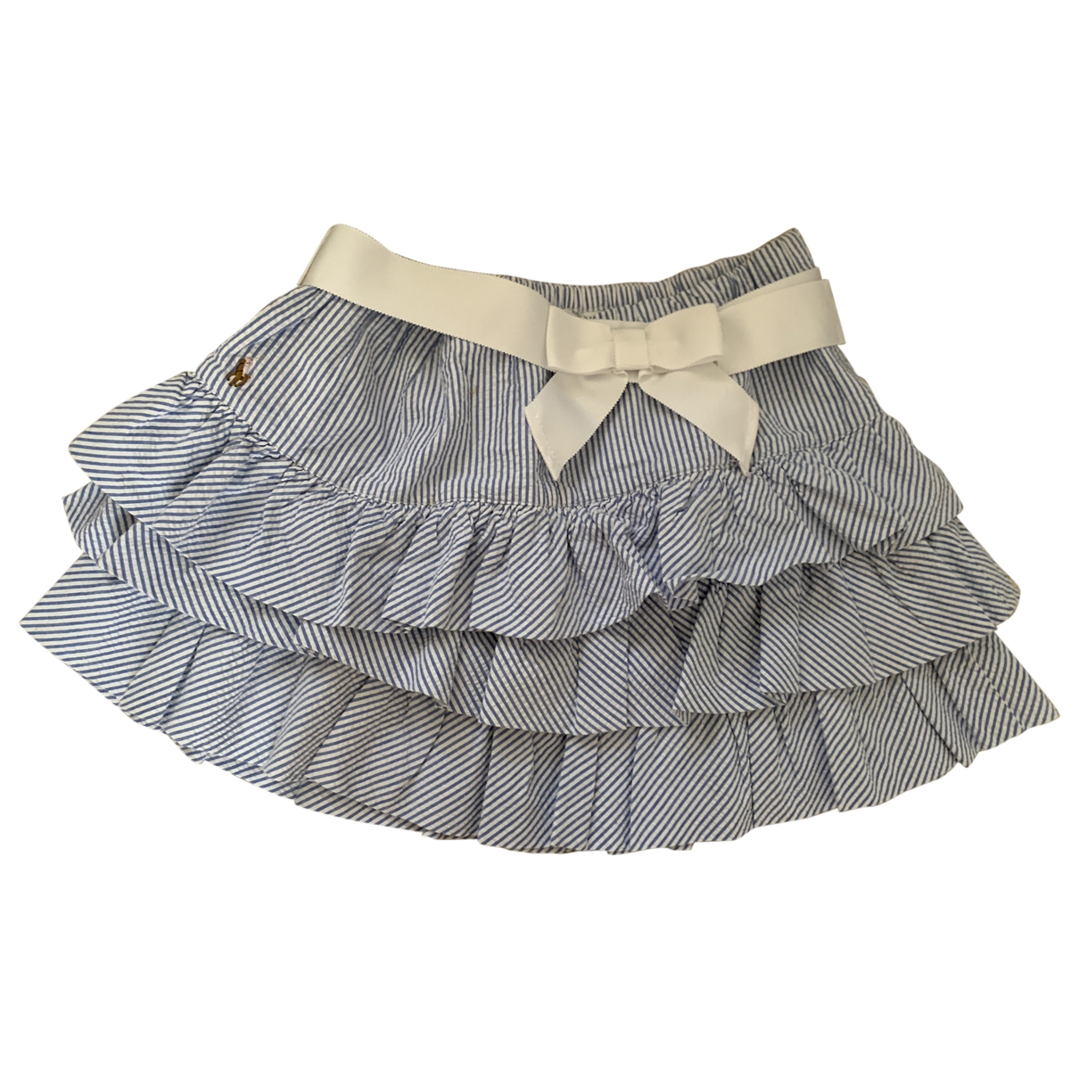 Polo Ralph Lauren \N Blue Cotton skirt for Kids 16 years - M FR