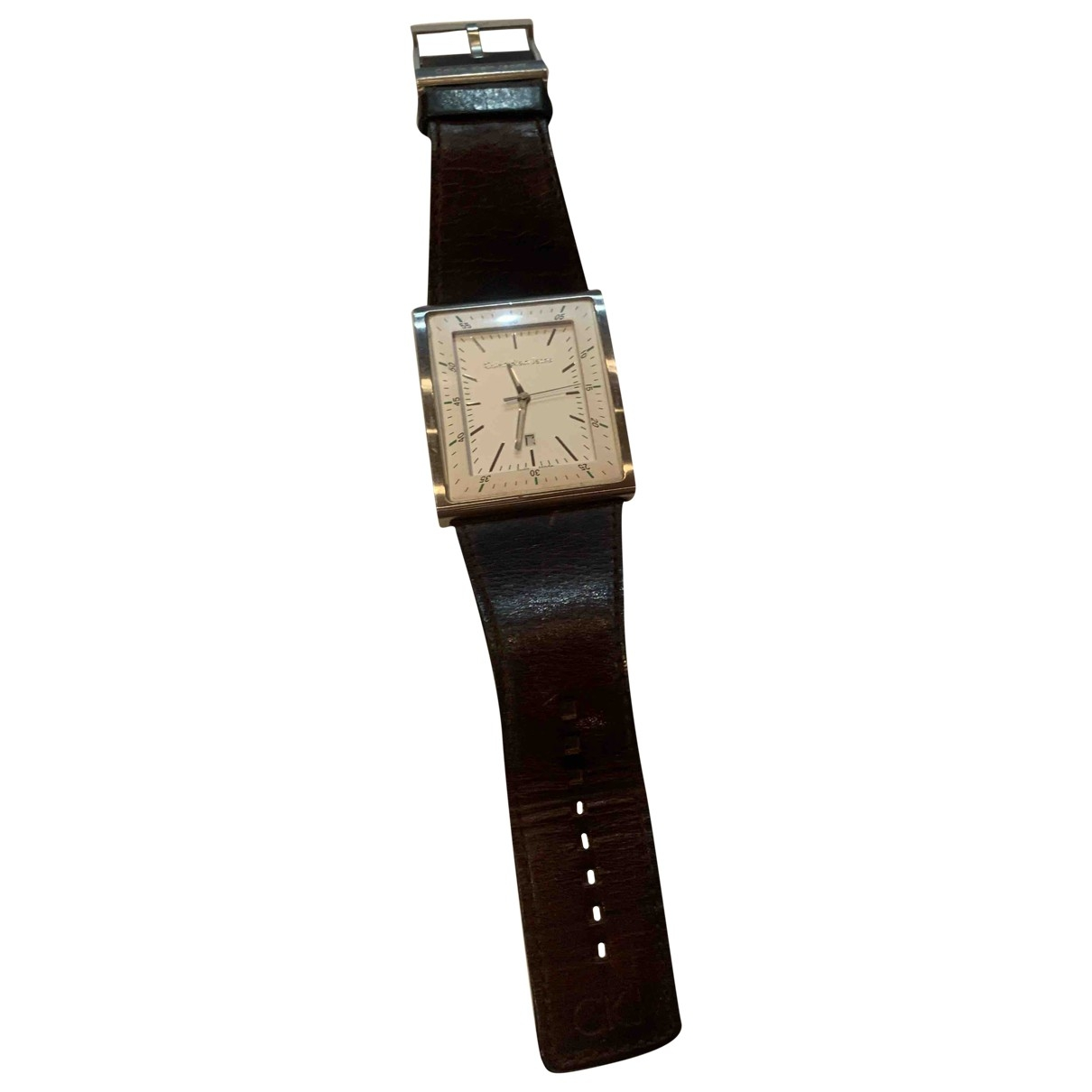 Calvin Klein \N White Steel watch for Men \N