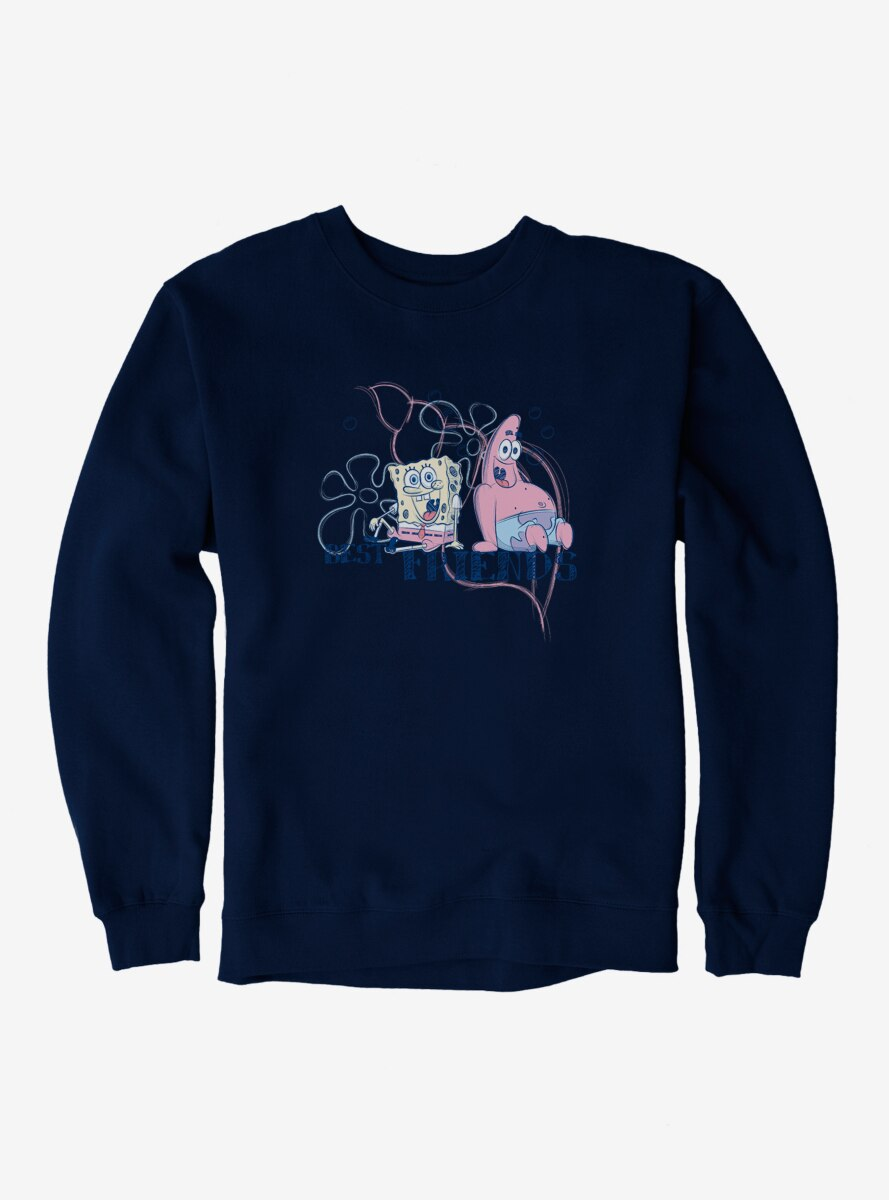SpongeBob SquarePants Best Friends Pastel Sweatshirt